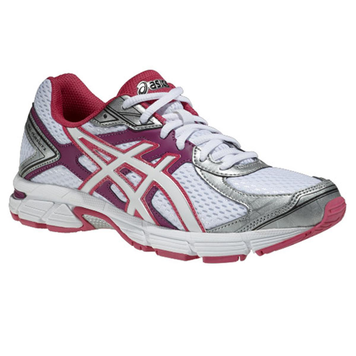 acheter populaire 5bc95 837a6 Asics Womens GEL Pursuit 2 Running Shoes - White/Purple