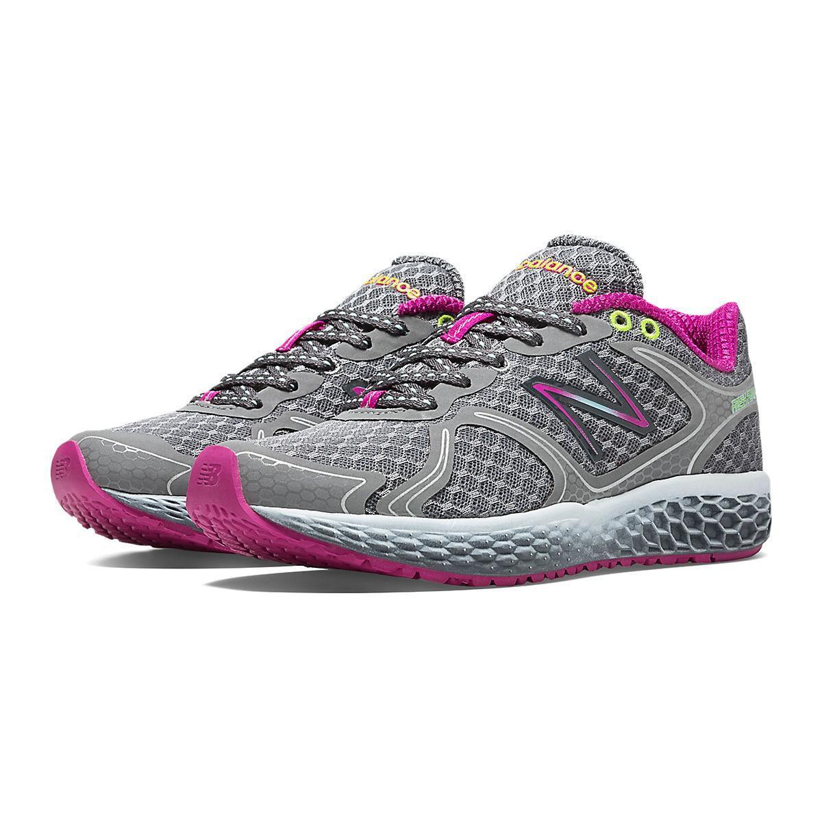 free shipping c3c84 f57b9 New Balance Fresh Foam 980 Womens (B) Running Shoes - Silver/Purple