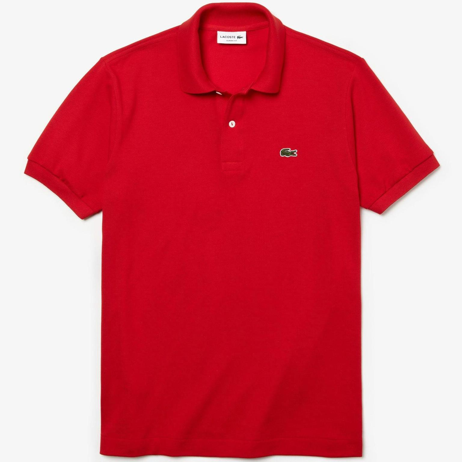 Red Fit Mens Lacoste Polo Classic SMUzpV