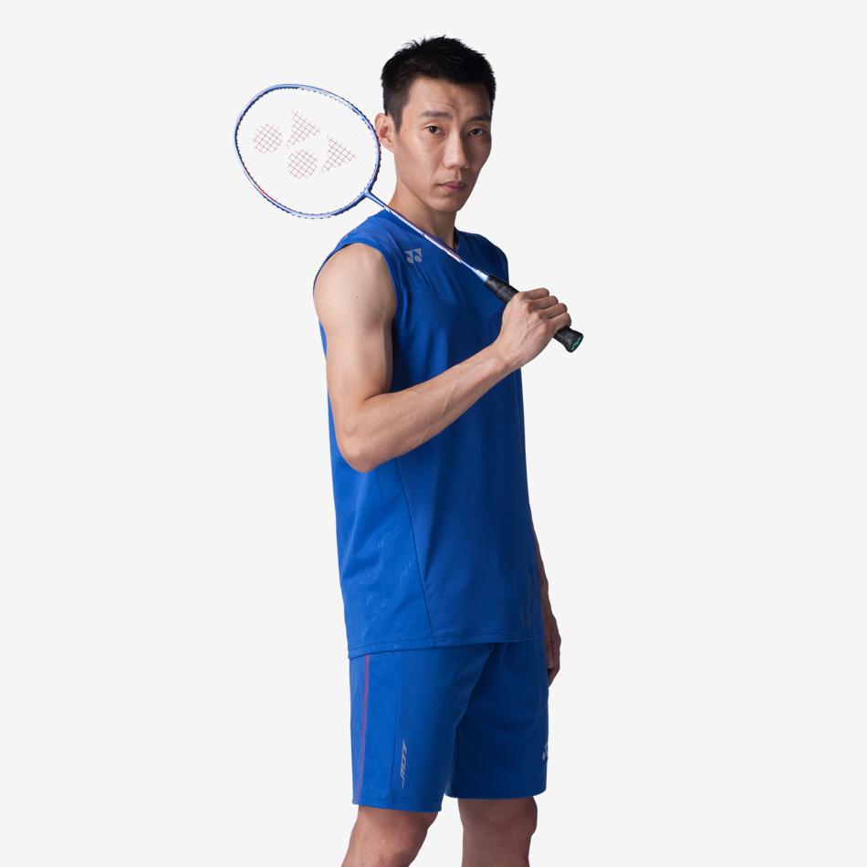 Yonex Mens LCWEX Lee Chong Wei Shorts Blue Tennisnuts