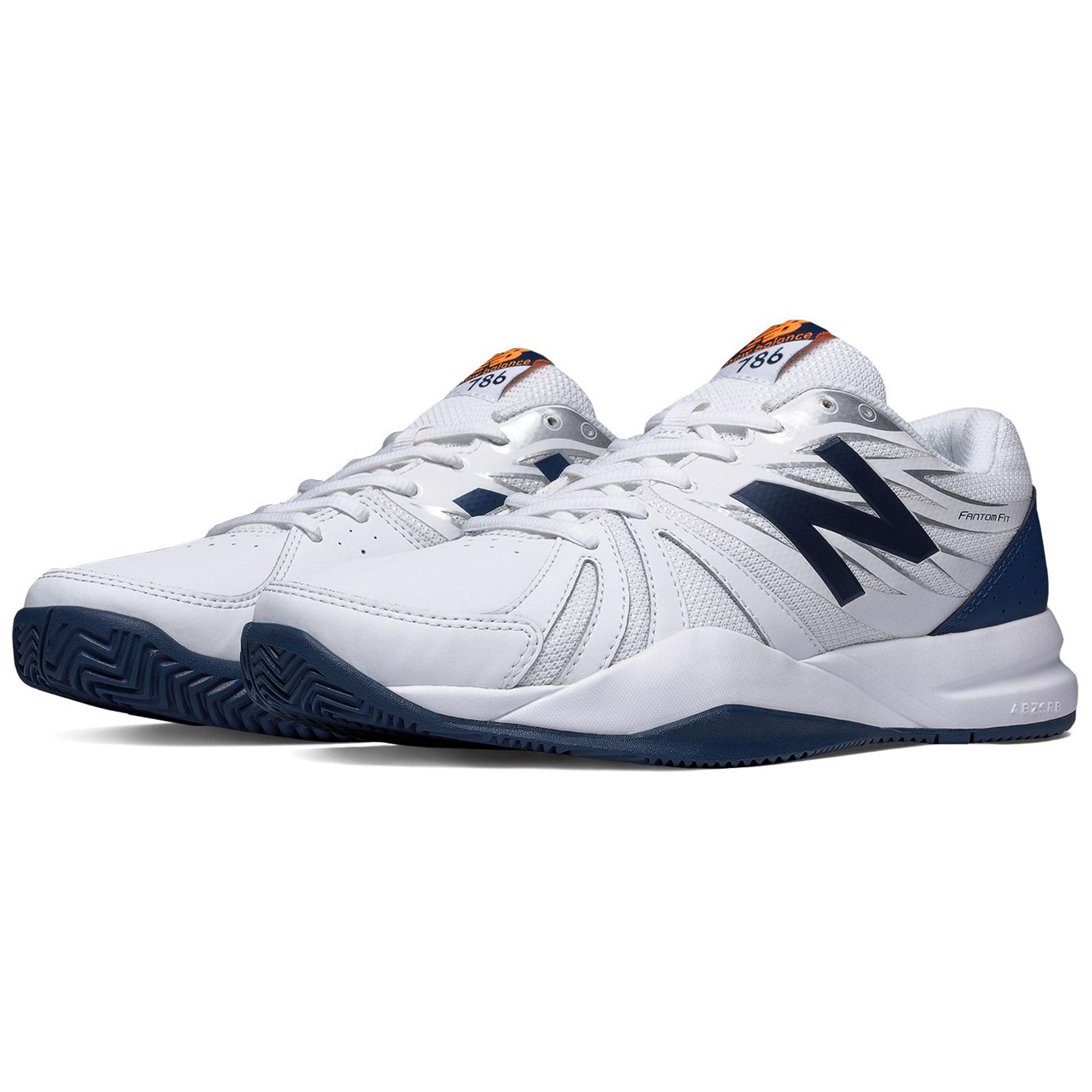 new balance mens 786v2 tennis shoes white tennisnuts