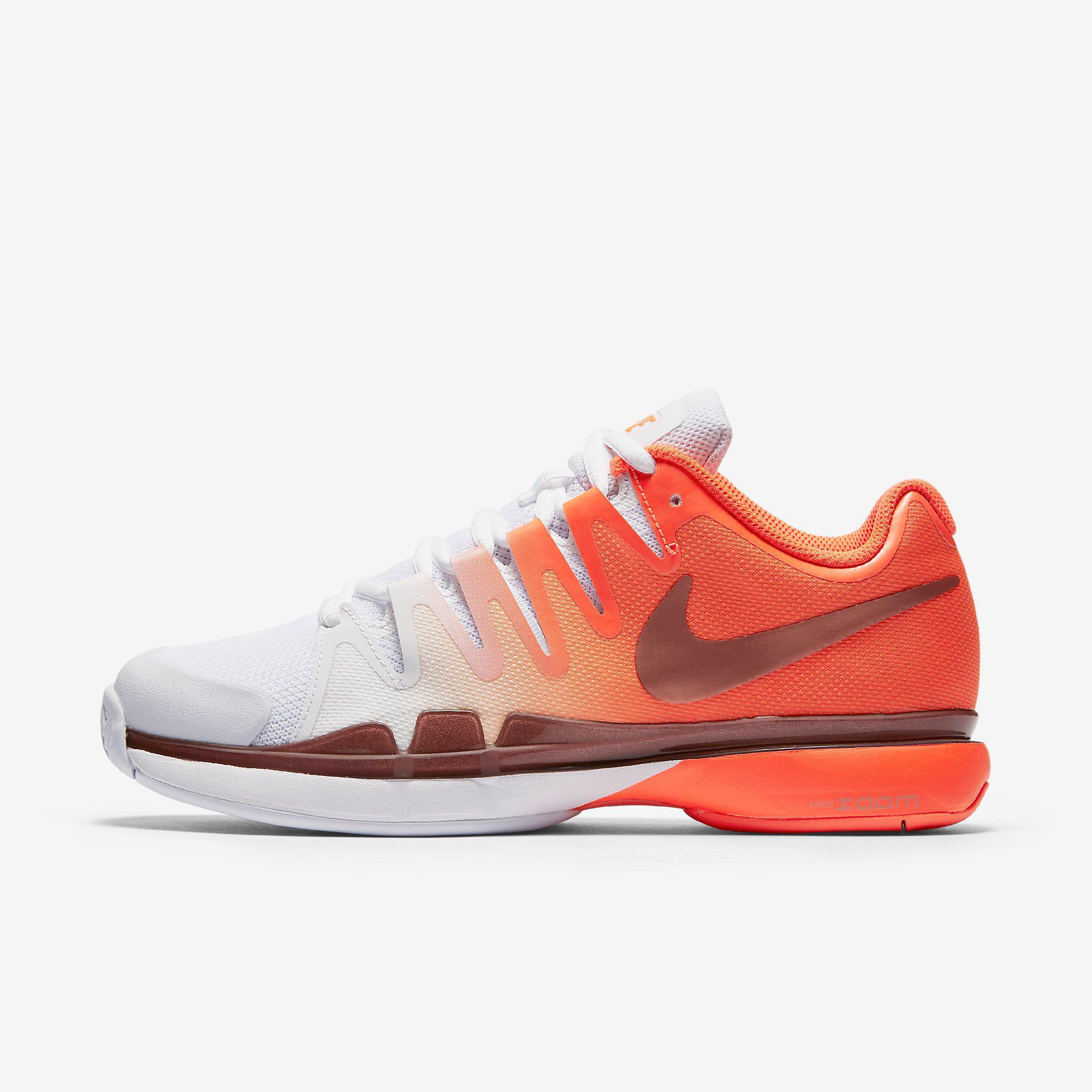 b58bf5419080a Nike Womens Zoom Vapor 9.5 Tennis Shoes - Total Crimson White -  Tennisnuts.com