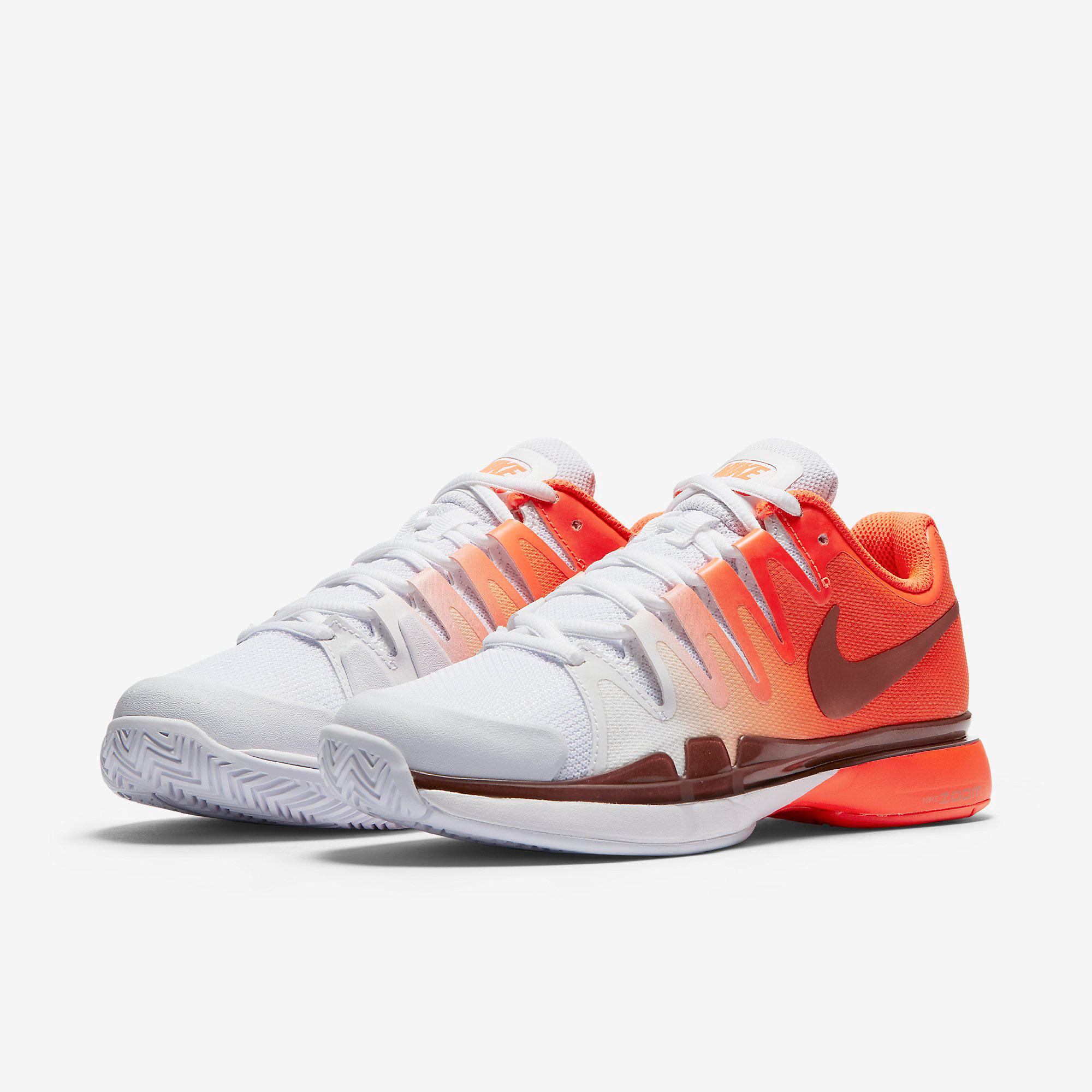 d7ba8b84ed53 Nike Womens Zoom Vapor 9.5 Tennis Shoes - Total Crimson White ...