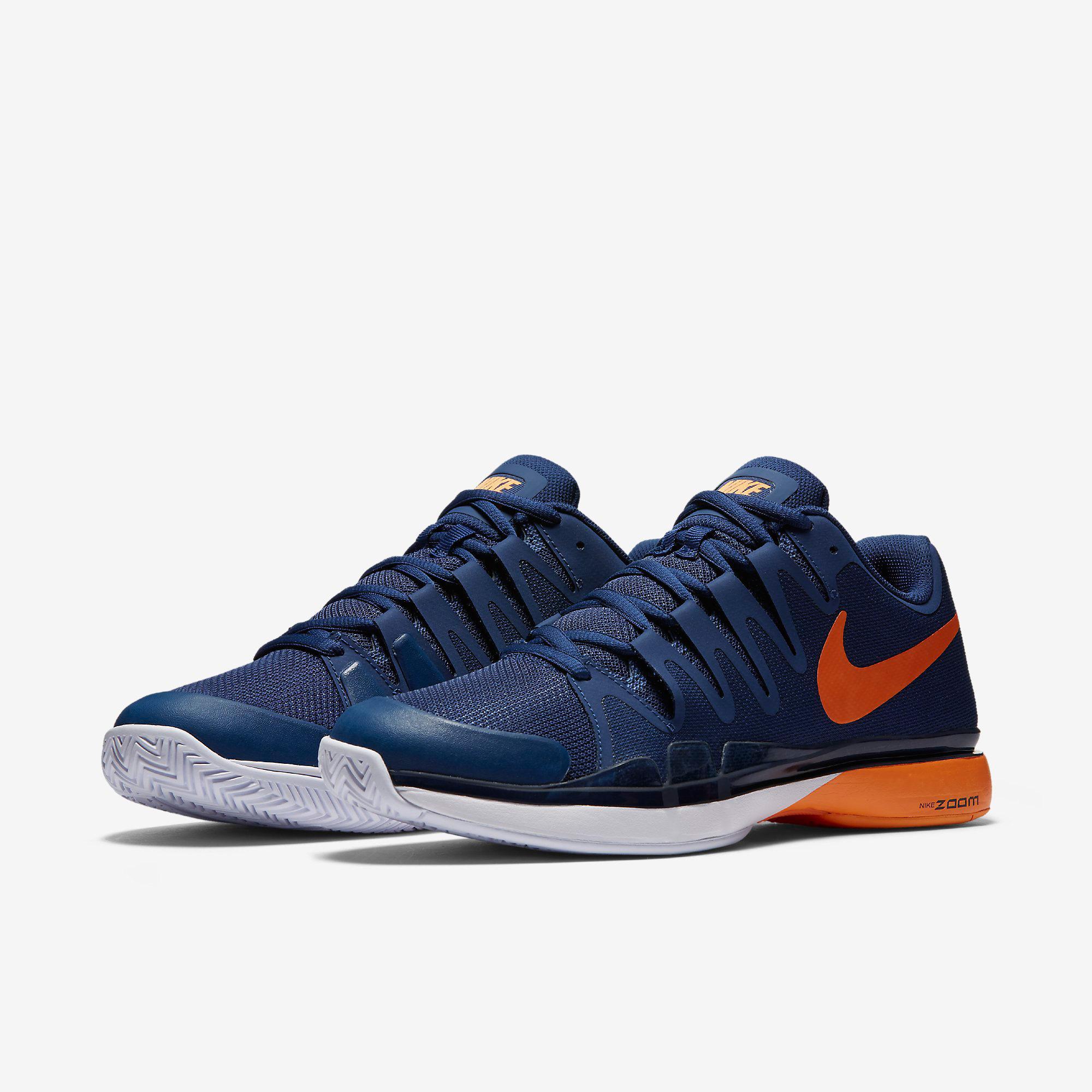 61d47b6f9b8d4 Nike Mens Zoom Vapor 9.5 Tour Tennis Shoes - Coastal Blue ...