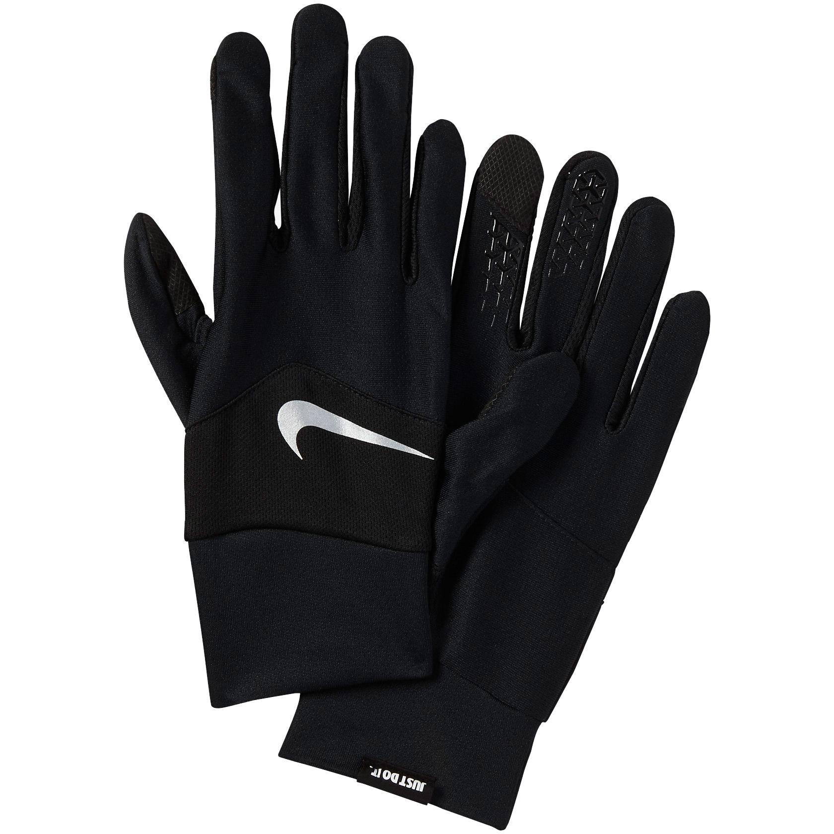 sports shoes c66f7 8fef2 Nike Mens Dri-Fit Tempo 2.0 Running Gloves - Black - Tennisn