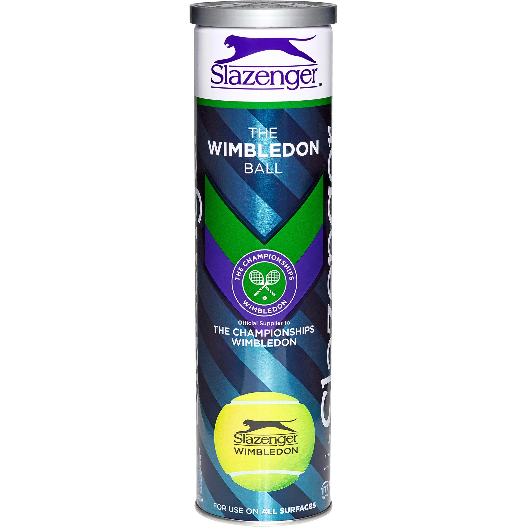 Slazenger Wimbledon Tennis Balls (4 Ball Can) Quantity Deals