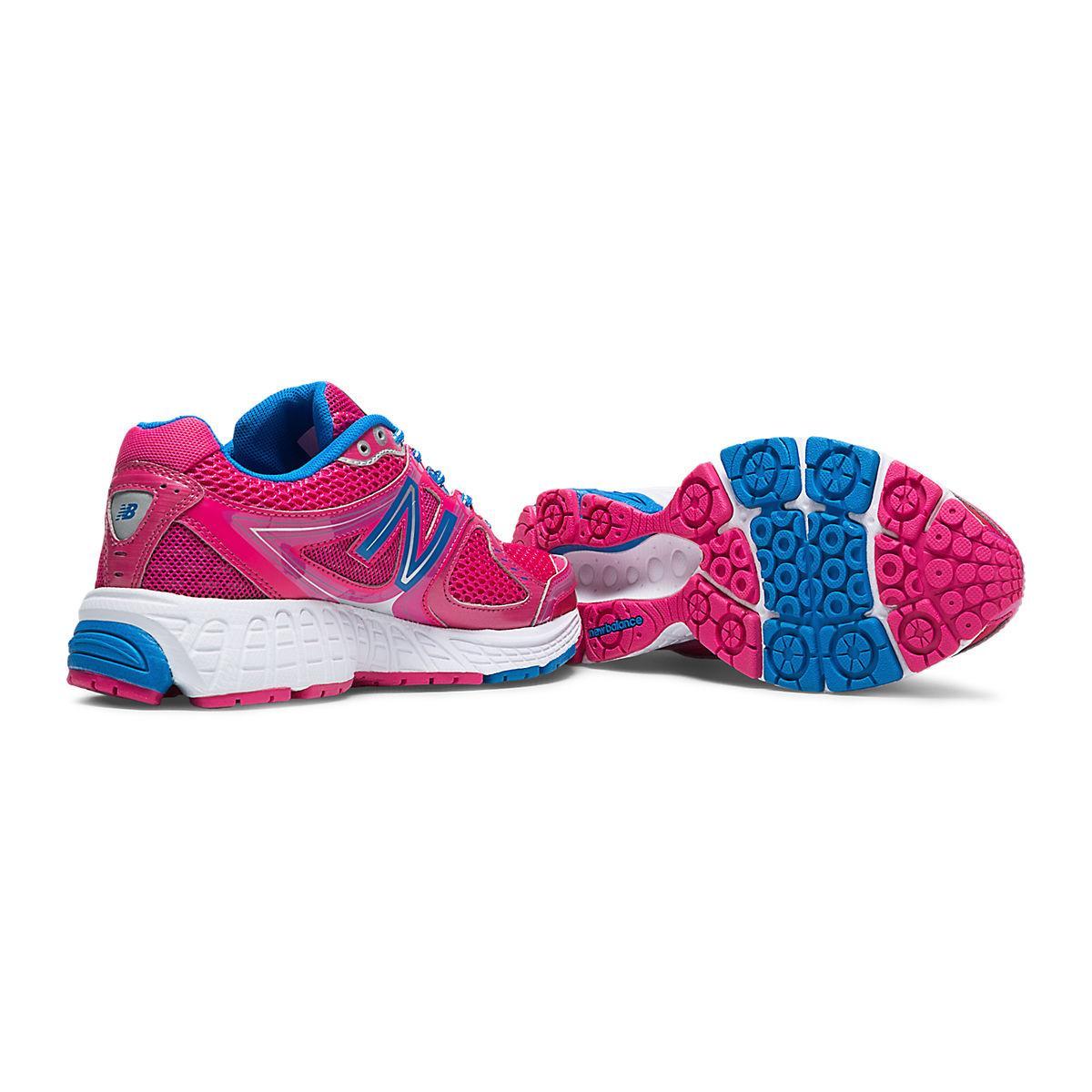 new balance w680v3 womens b running shoes pink blue