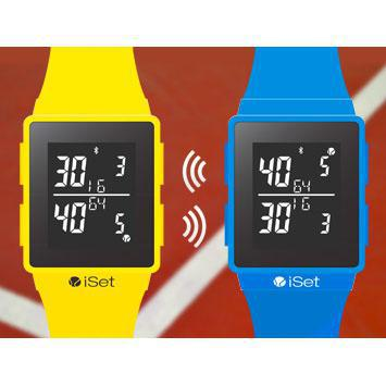 iSet Watch - Tennis e-Coach Watch / Scorer (Multiple Colours)