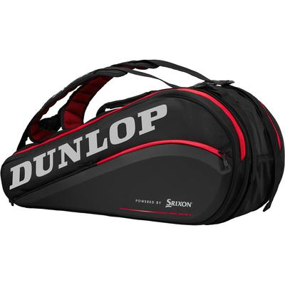 Dunlop CX Series 9 Racket Bag - Black/Red