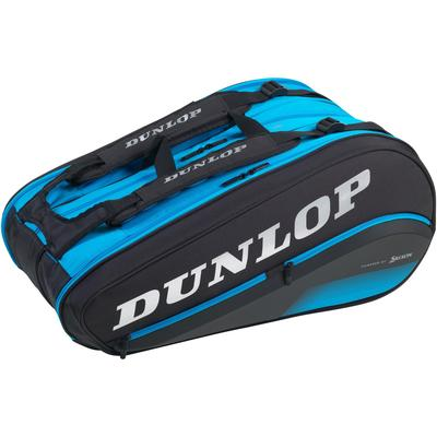 Dunlop FX Performance Thermo 12 Racket Bag - Black/Blue