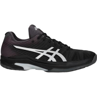 Asics Mens Solution Speed FF Tennis Shoes - Black/Silver
