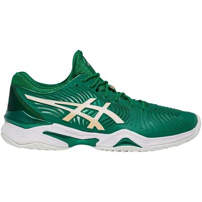 Asics Mens Court FF Novak Tennis Shoes - Kale/White