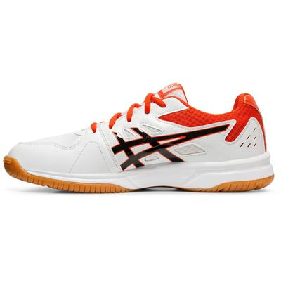 Asics Mens Upcourt 3 Indoor Court Shoes - White/Black