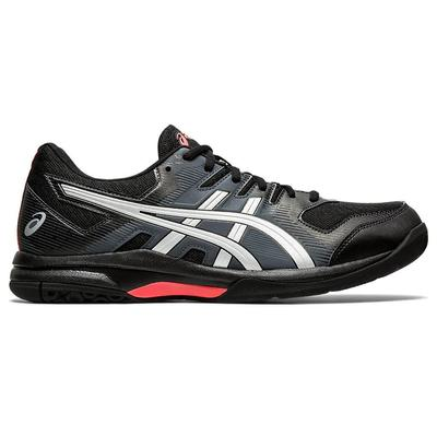 Asics Mens GEL-Rocket 9 Indoor Court Shoes - Black/Sunrise Red