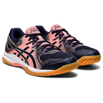 Asics Womens GEL-Rocket 9 Indoor Court Shoes - Guava/Midnight