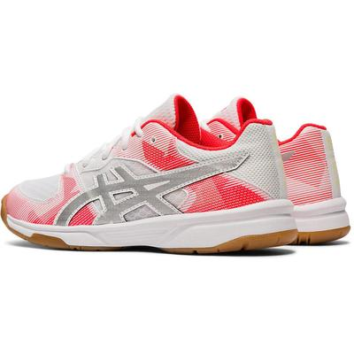 Asics Kids GEL-Tactic GS Indoor Court Shoes - White/Silver