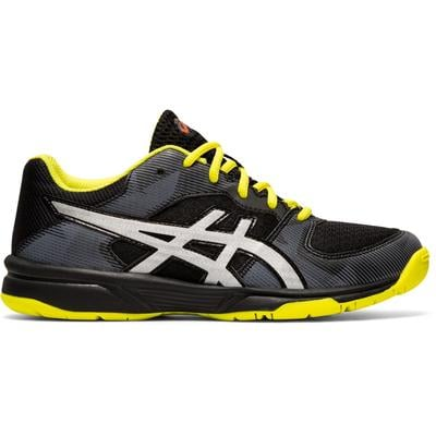 Asics Kids GEL-Tactic GS Indoor Shoes - Black/Silver