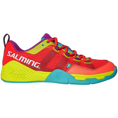 Salming Womens Kobra Indoor Court Shoes - Pink/Turquoise