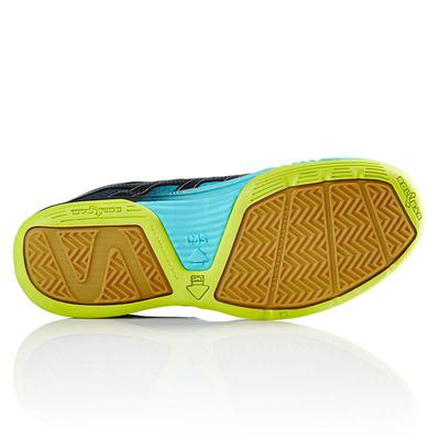Salming Mens Race X Indoor Court Shoes - Turquoise