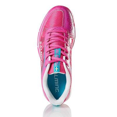 Salming Womens Adder Indoor Court Shoes - Pink