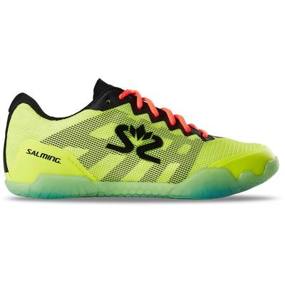 Salming Mens Hawk Indoor Court Shoes - Fluo Yellow/Black