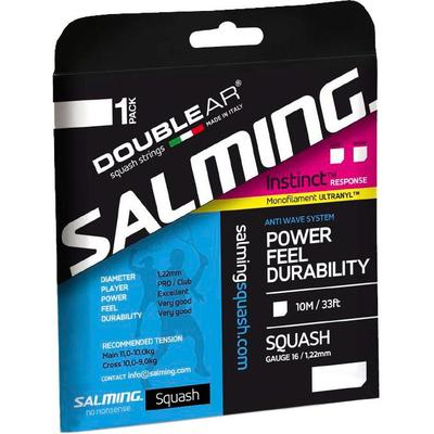 Salming Instinct Response Squash String Set - Black
