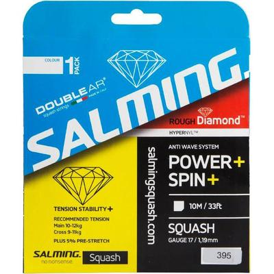 Salming Rough Diamond Squash String Set - Transparent