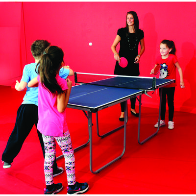 Butterfly 6ft Starter 12mm Indoor Table Tennis Table Set - Blue