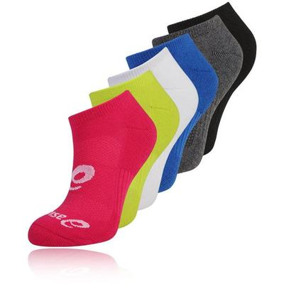 Asics Invisible Ankle Socks (6 Pairs) - Assorted