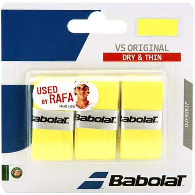 Babolat VS Original Overgrips (Pack of 3) - Yellow