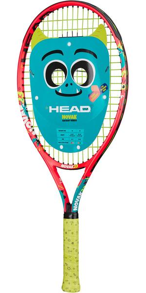 Head Novak 23 Inch Junior Aluminium Tennis Racket - Red