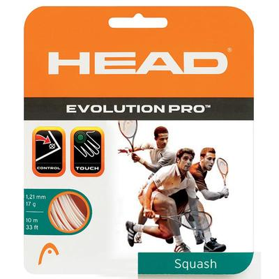 Head Evolution Pro Squash String Set - Orange