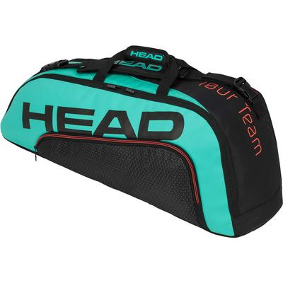 Head Tour Team Combi 6 Racket Bag - Black/Teal