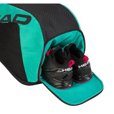 Head Tour Team Backpack - Black/Teal