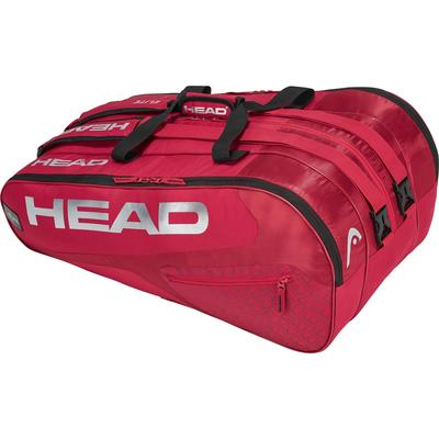 Head Elite Monstercombi 12 Racket Bag - Red