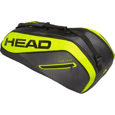 Head Tour Team Extreme Combi 6 Racket Bag - Black/Yellow