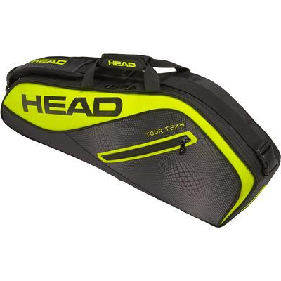 Head Tour Team Extreme Pro 3 Racket Bag - Black/Yellow