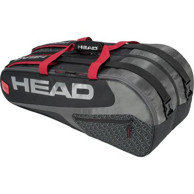 Head Elite Supercombi 9 Racket Bag - Black/Red