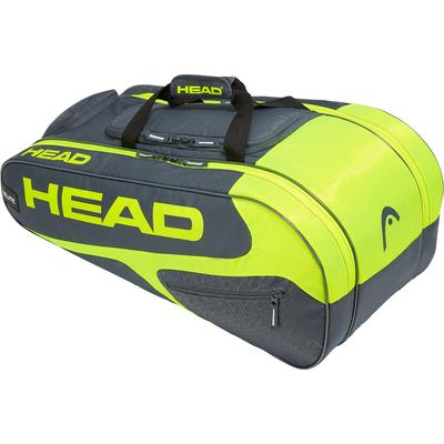 Head Elite All Court Racket Bag - Grey/Yellow