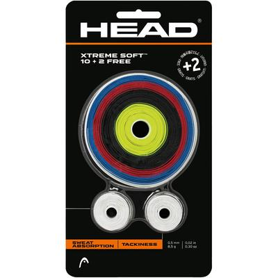 Head Xtreme Soft Overgrips (Pack of 10 + 2 Free)