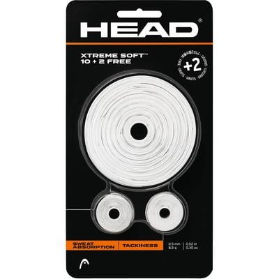 Head Xtreme Soft Overgrips 10 + 2 - White