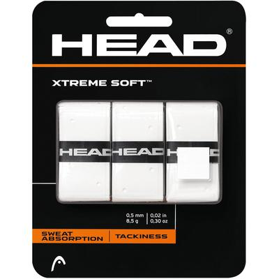 Head Xtreme Soft Overgrips (Pack of 3) - White