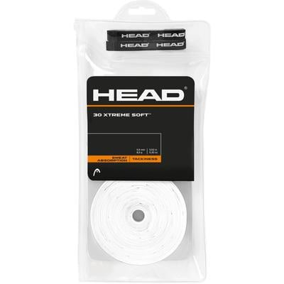 Head Xtremesoft Overgrips (Pack of 30) - White