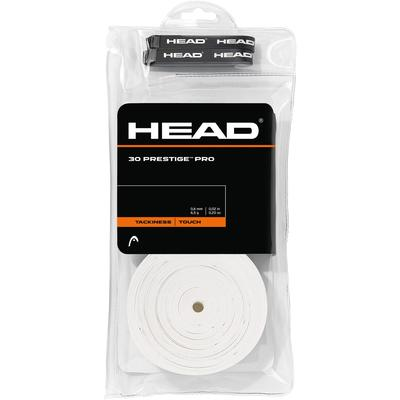 Head Prestige Pro Overgrips (Pack of 30) - White