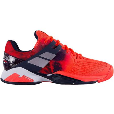 Babolat Mens Propulse Fury Tennis Shoes - Fluorescent Red