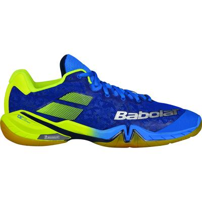 Babolat Mens Shadow Tour Badminton Shoes - Blue/Yellow