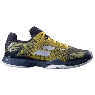 Babolat Mens Jet Mach II Tennis Shoes - Dark Yellow/Black