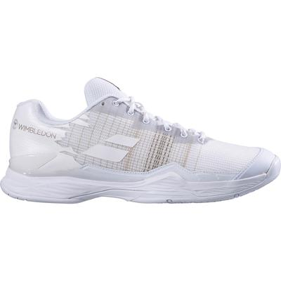 Babolat Womens Jet Mach I Wimbledon Tennis Shoes - White