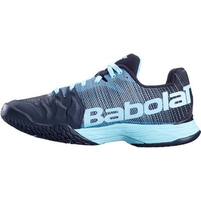 Babolat Womens Jet Mach II Tennis Shoes - Angel Blue/Black