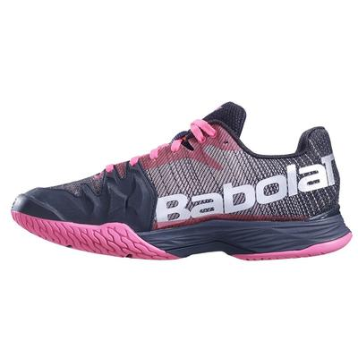 Babolat Womens Jet Mach II Tennis Shoes - Pink/Black